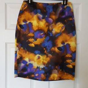Jeweled Colored Pencil Skirt